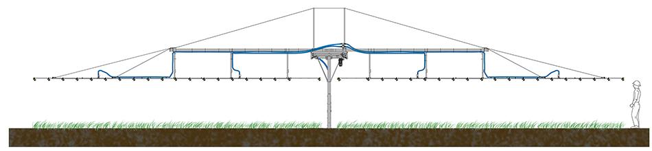 Irrigatore mobile da esterno IRMOEX